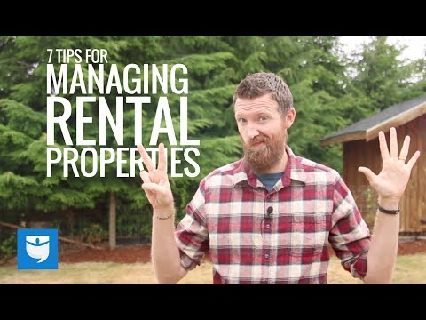 7 Tips For Managing Rental Properties