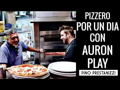 PIZZERO POR UN DIA | Con AuronPlay | Pino Prestanizzi