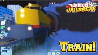 Jailbreak Train UPDATE! Roblox (Train Gameplay)