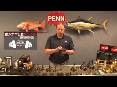 PENN Battle Spinning Reel Review Penn Battle Spinning Reels RI Penn Dealer