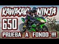 PRUEBA KAWASAKI NINJA 650 LIMITABLE CARNET A2 + AKRAPOVIC !!! TEST A FONDO DE MI EX MOTO JAJA