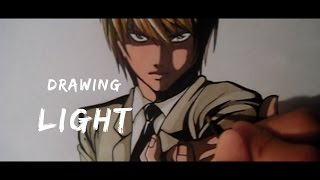 Drawing LIGHT | Death Note