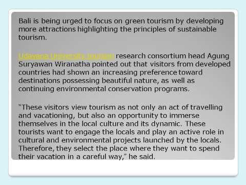 crown capital eco management jakarta reviews-Bali focus on green tourism