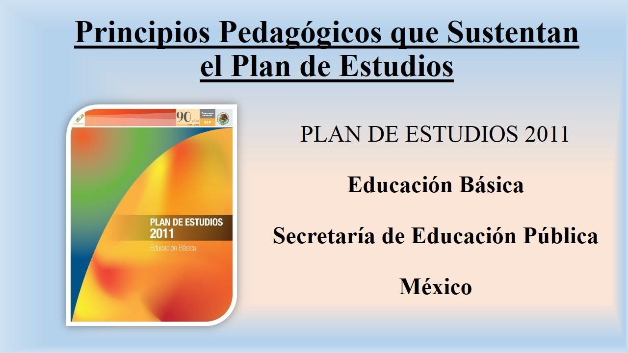 plan de estudios 2011 sep pdf