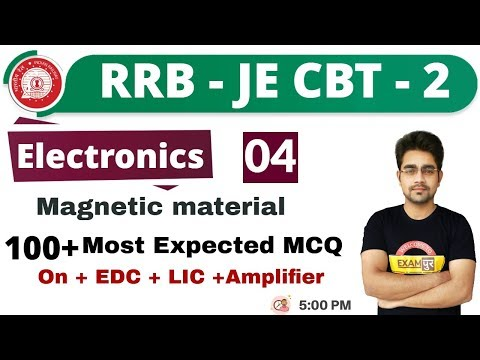 Class 04 ||#RRB JE (CBT -2 ) || Electronics || By Sameer Sir || 100 +   Most expected questions
