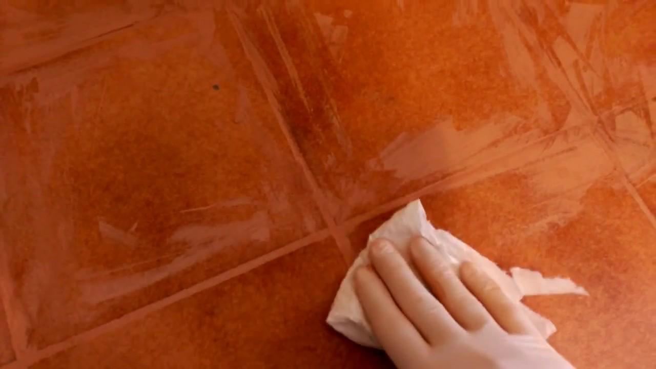 C mo renovar juntas de baldosas o azulejos de suelo f cil youtube - Renovar juntas azulejos ...