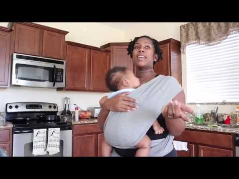 Baby Wearing | The Newborn Hold