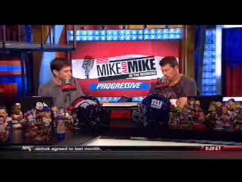 Mark Schlereth On Mike And Mike In The Morning On Espn