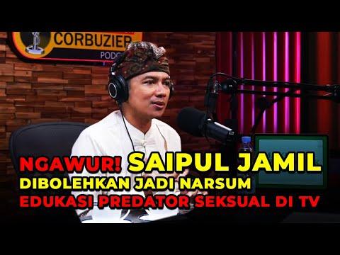 NGAWUR! Saipul Jamil Dibolehkan Jadi Narsum Edukasi Predator Seksual di TV
