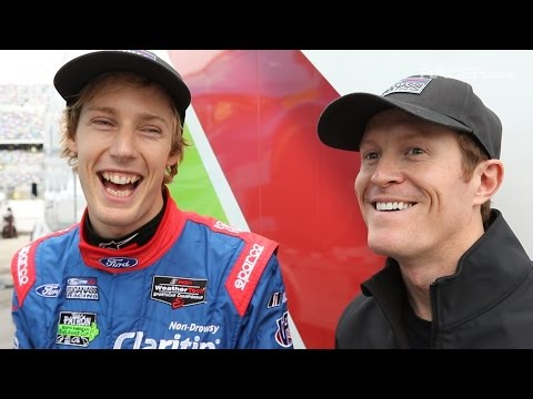 RACER: Marshall Pruett with Kiwis Brendon Hartley and Scott Dixon
