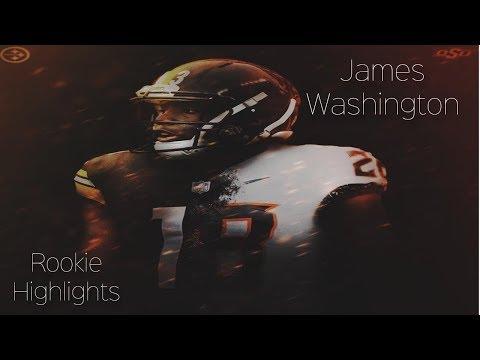 "James Washington || ""JDub"" || 2018 Rookie Steelers Highlights **HD Quality**"