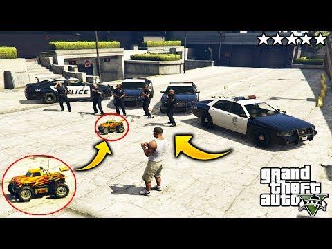 ¿Que Pasa Si Cometemos Crimenes con el RC Bandito? GTA 5 thumbnail