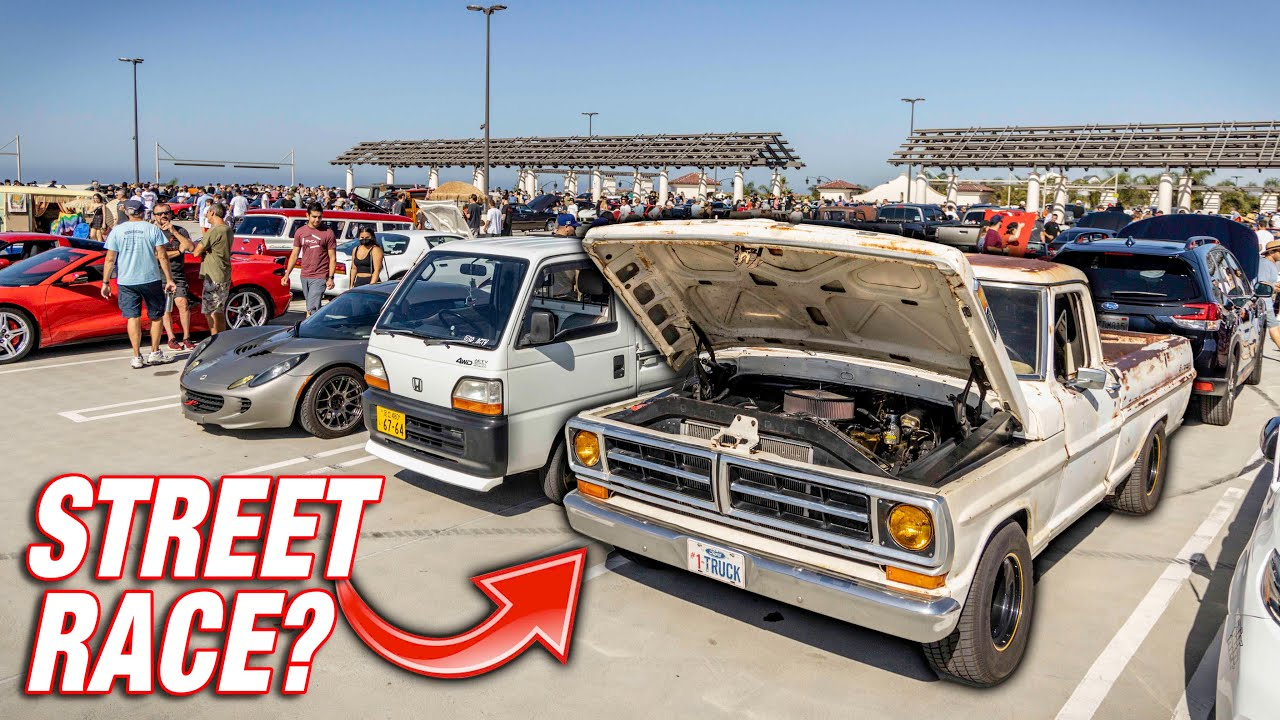 Absolutely RIPPING My F100 to it's Craziest Meet Yet! *5000+ RPM Highway Pulls*
