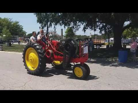 Antique farm tractor parade raleigh nc