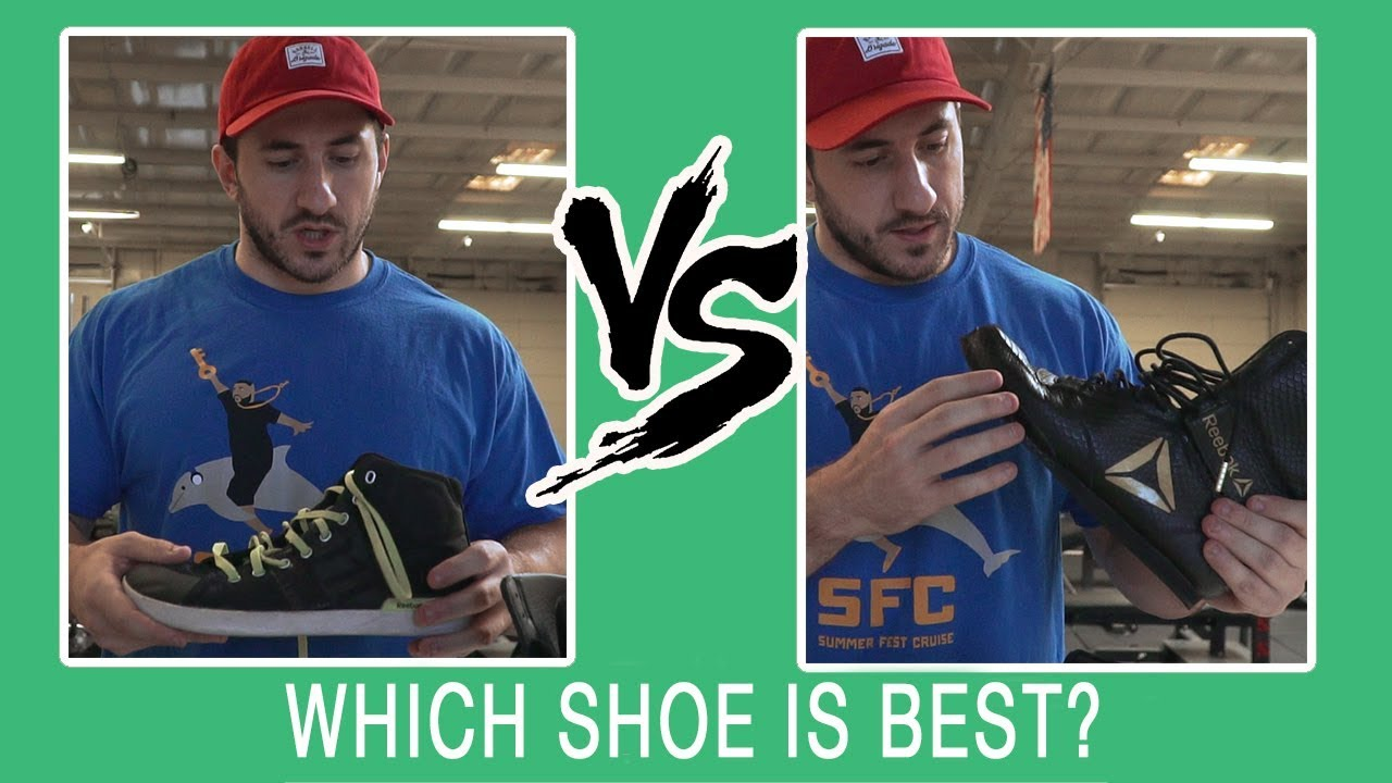 dfde16308b6f THE BEST SHOES FOR LIFTING. Silent Mike