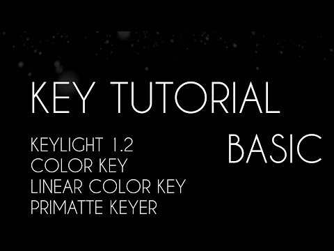 Quick Basic keying tutorial in After Effects | Keylight |Color key| Primatte