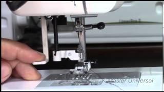 Швейная машинка Janome QC2325.Часть 3.Удобный механизм вдевания нити.Видео №9.(, 2014-11-11T18:54:39.000Z)