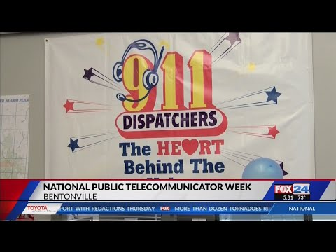Dispatchers Honored for Service to Local Communities (Fox 24)