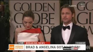 Pernikahan Angelina Jolie dan Brad Pitt