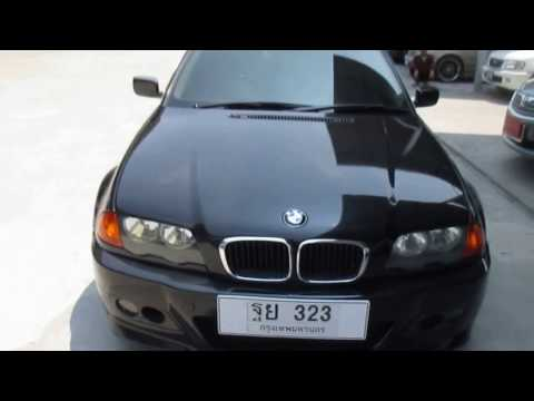 รถเก๋งมือสอง รถราคาถูก BMW (บีเอ็มดับบลิว) รุ่น 323 IA สีดำ ปี 2001 เกียร์ออโต้#UC77