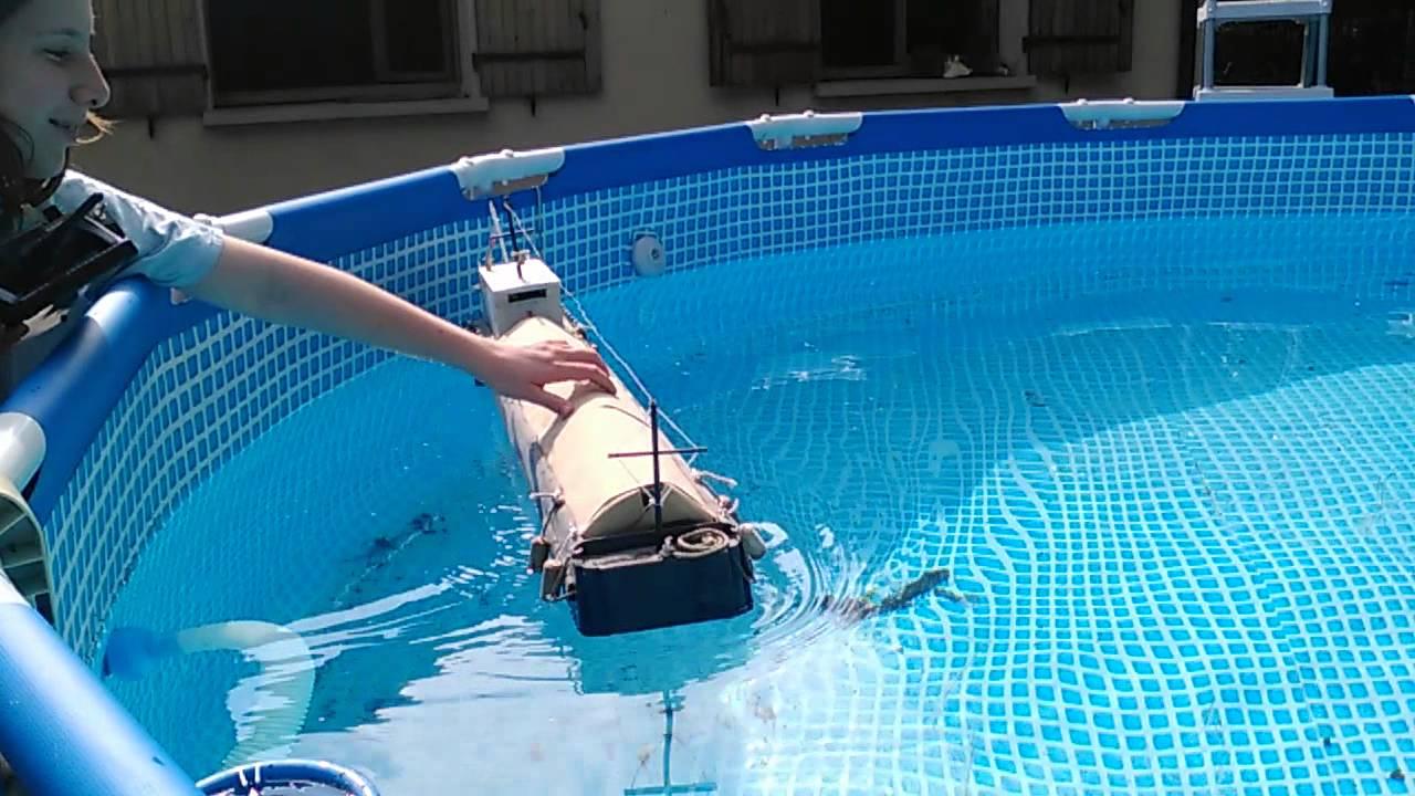 Bekannt peniche bois palette RC piscine - YouTube RF03