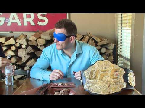 UFC Texas BBQ Taste Challenge