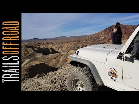 Mud Hills Northern 4x4  Route - Calico California in 4k UHD