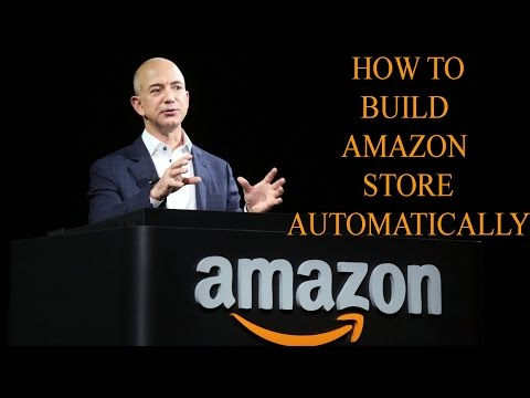 How To Build Amazon Affiliate Store  Automatically 2015