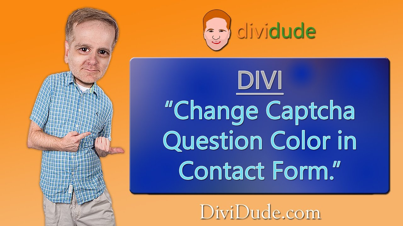 how to change contact form in divi theme