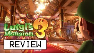 Luigi's Mansion 3 Review (Video Game Video Review)