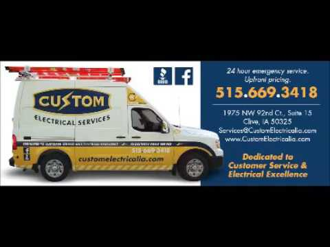 Des Moines Iowa Electrical Services - Best Electricians in IA