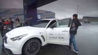 Себастьян Феттель и Дэвид Култхард посетили Олимпийский парк Сочи (Сочи, Олимпстрой)