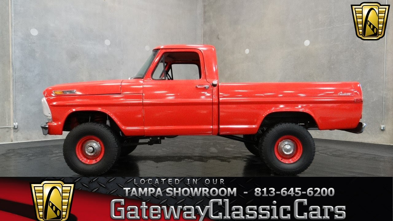 1969 Ford F100 4x4 Youtube