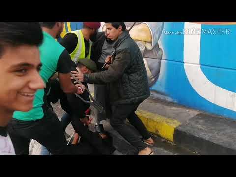 تحشيش علاوي الخبل في ساحة التحرير يفوتكم 2019 علي السراي