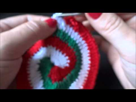 Crochê Espiral 3 cores - YouTube f87aacb998a