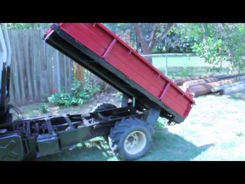 SOLD: Mini-truck Mini Dump Truck with Dump Bed Farm Truck ...