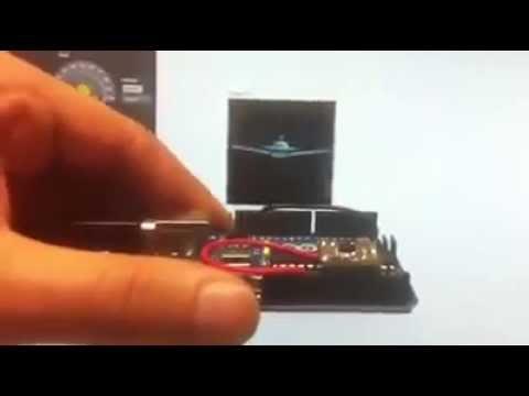 Simulation angulaire arduino (accelerometer, carte arduino uno et labview)
