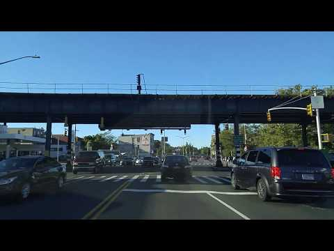 Driving from Soundview to Van Nest in the Bronx,New York
