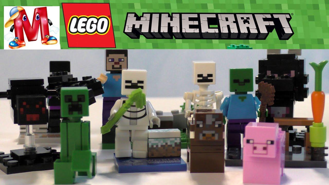LEGO Minecraft 21115 The First Night Первая ночь Обзор ☺ - YouTube