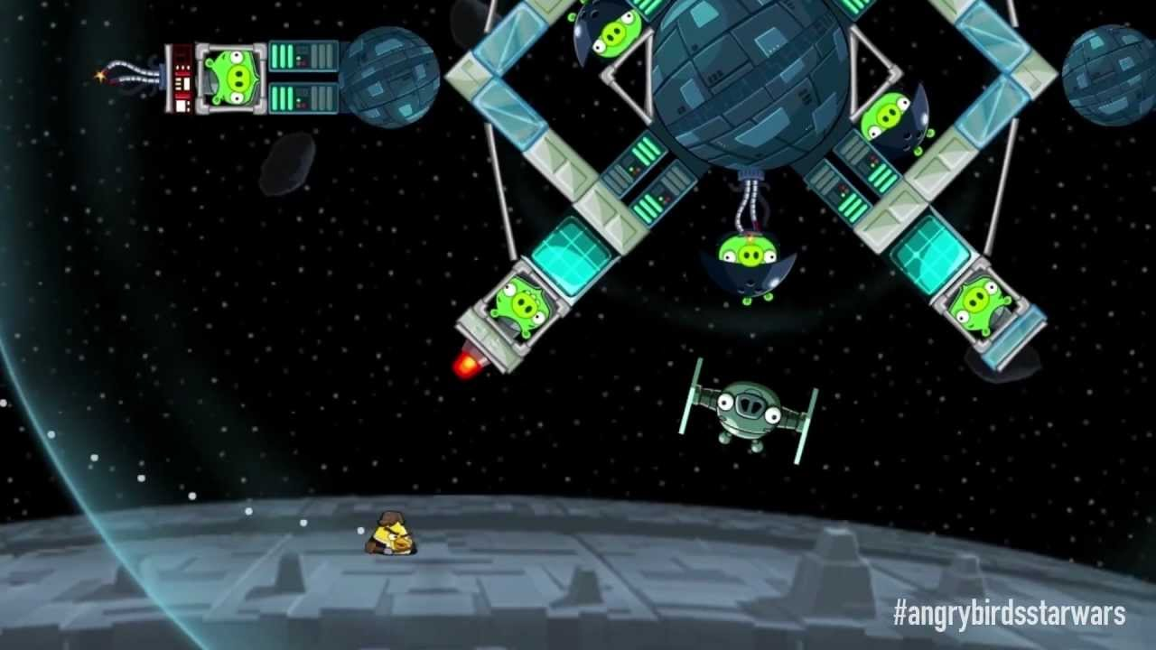 Angry Birds Star Wars official gameplay trailer - coming November ...