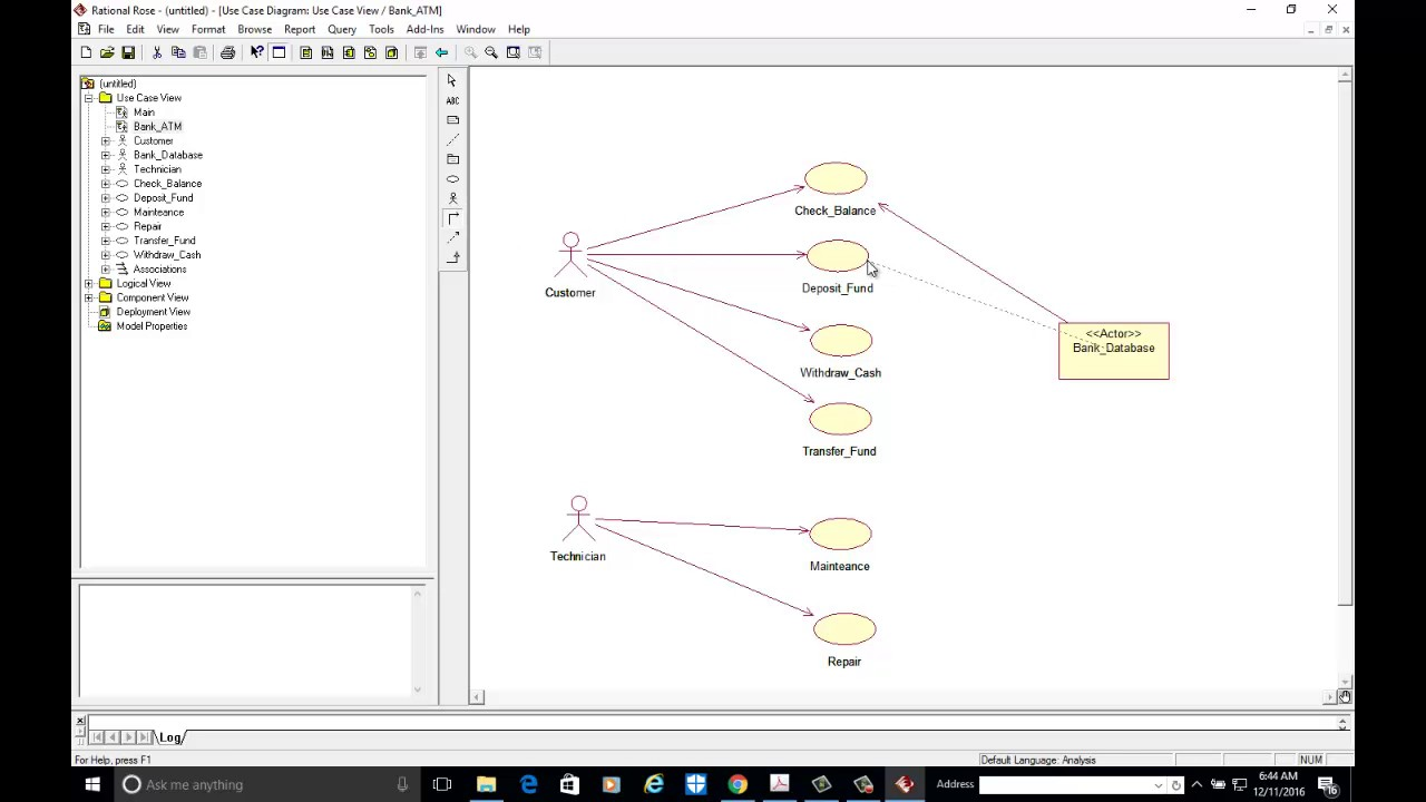 7 Usecase Diagram for Bank ATM system  YouTube