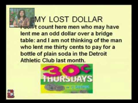 the lost dollar
