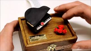 Piano Music Box - Gift Of A Kind, Make Your Own Music Composal (song, Big Bang - Haru Haru)