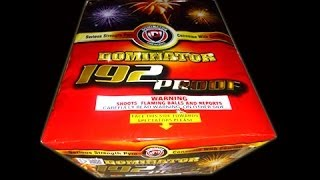 192 Proof of 500g Aerials-Dominator Fireworks-500G Cakes