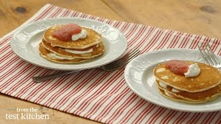 How to Make Applesauce Pancakes - From the Test Kitchen