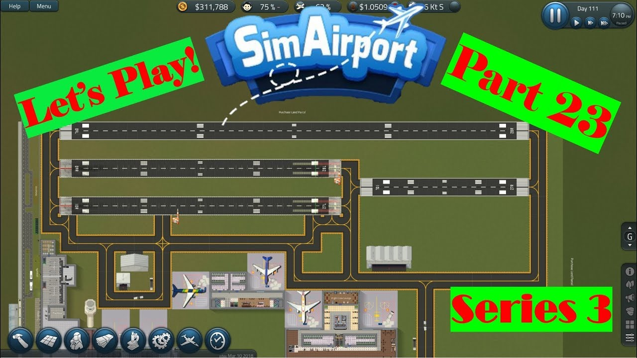 Sim Airport - Roads and Runways- Part 23