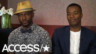 Taye Diggs & Daniel Ezra Preview The CW's New High School Football Drama 'All American' | Access