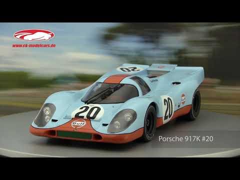 Ck Modelcars Video Porsche 917k 20 24h Lemans 1970 Siffert Redman