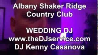 albany shaker ridge country club wedding in ny dj kenny casanova