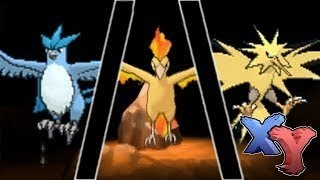 Pokemon X and Y How to Catch Moltres Zapdos Articuno